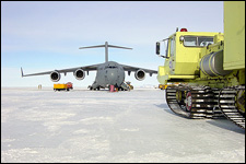 Antarctic Fire Department - USAF C-17 and AFD Red 2